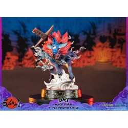 Okami - Oki (Wolf Form) Standard Edition First 4 Figures statue 4