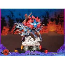 Okami - Oki (Wolf Form) Standard Edition First 4 Figures statue 3