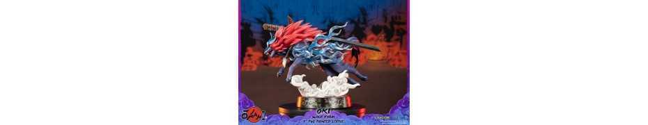 Okami - Oki (Wolf Form) Standard Edition First 4 Figures statue 6