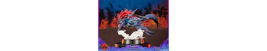 Okami - Oki (Wolf Form) Standard Edition First 4 Figures statue 7