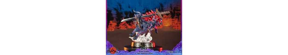 Okami - Oki (Wolf Form) Standard Edition First 4 Figures statue 9