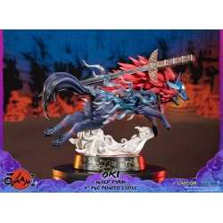Okami - Oki (Wolf Form) Standard Edition First 4 Figures statue 10