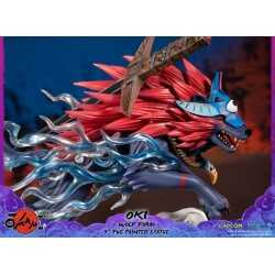 Okami - Oki (Wolf Form) Standard Edition First 4 Figures statue 12