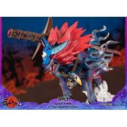 Okami - Oki (Wolf Form) Standard Edition First 4 Figures statue 13