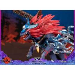 Okami - Oki (Wolf Form) Standard Edition First 4 Figures statue 14