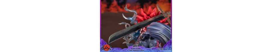 Okami - Oki (Wolf Form) Standard Edition First 4 Figures statue 16