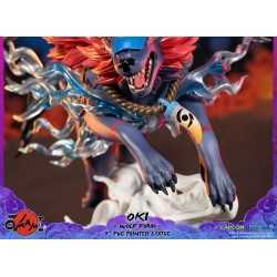 Okami - Oki (Wolf Form) Standard Edition First 4 Figures statue 19
