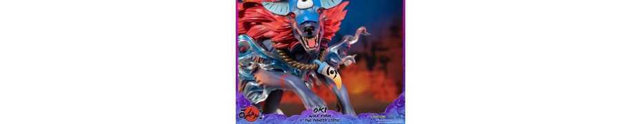 Okami - Oki (Wolf Form) Standard Edition First 4 Figures statue 18