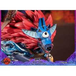 Okami - Oki (Wolf Form) Standard Edition First 4 Figures statue 20