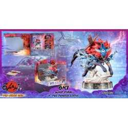 Okami - Oki (Wolf Form) Standard Edition First 4 Figures statue 22
