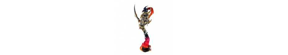 Yu-Gi-Oh! Duel Monsters - Art Works Monsters Black Luster Soldier (Recolored) Megahouse figure 2