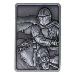 Star Wars The Mandalorian - Lingote Iconic Scene Collection Precious Cargo Limited Edition
