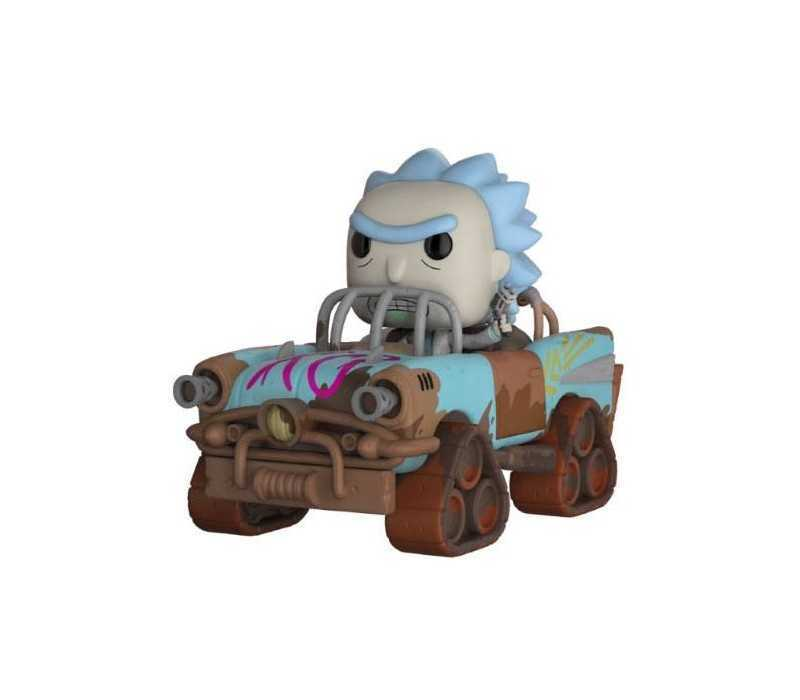 Rick & Morty - Mad Max Rick POP! Rides figure