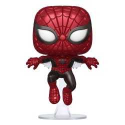 Figura Funko Marvel 80th - Spider-Man Metallic (First Appearance) Special Edition POP!