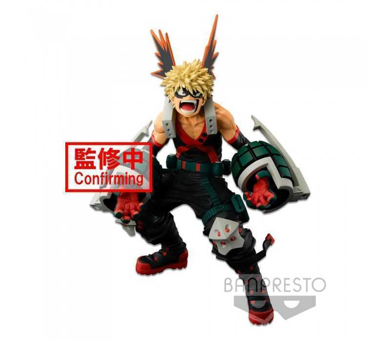My Hero Academia - World Figure Colosseum Modeling Academy Super Master Stars The Katsuki Bakugo (The Anime) Banpresto figure