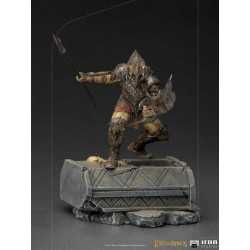 The Lord of the Rings - BDS Art Scale 1/10 Armored Orc Iron Studios figure
