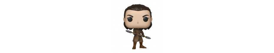 Figurine Game of Thrones - Arya w/Two Headed Spear POP!