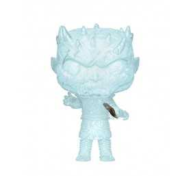 Figura Game of Thrones - Crystal Night King w/Dagger in Chest POP!