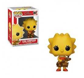 Figurine The Simpsons - Lisa POP!