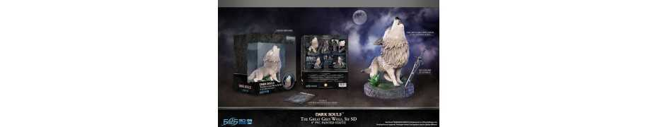 Dark Souls - SD The Great Grey Wolf Sif Regular Edition First 4 Figures statue 18