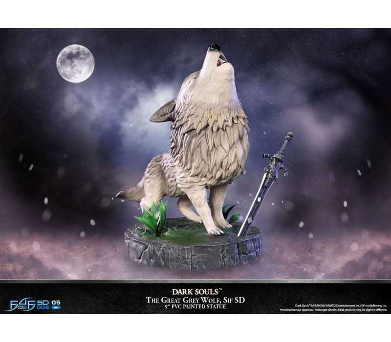 Dark Souls - SD The Great Grey Wolf Sif Regular Edition First 4 Figures statue