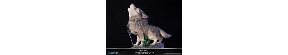 Dark Souls - SD The Great Grey Wolf Sif Regular Edition First 4 Figures statue 3