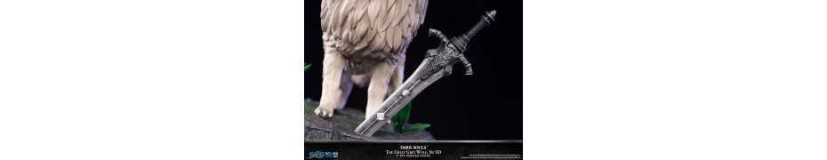 Dark Souls - SD The Great Grey Wolf Sif Regular Edition First 4 Figures statue 7