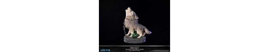 Dark Souls - SD The Great Grey Wolf Sif Regular Edition First 4 Figures statue 10