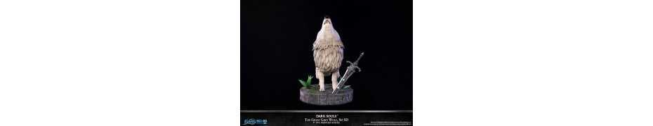 Dark Souls - SD The Great Grey Wolf Sif Regular Edition First 4 Figures statue 12