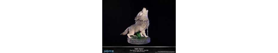 Dark Souls - SD The Great Grey Wolf Sif Regular Edition First 4 Figures statue 14