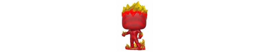 Figurine Marvel 80th - Human Torch (First Appearance) POP!