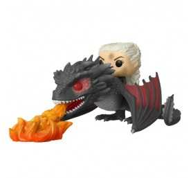Figurine Game of Thrones - Daenerys on Fiery Drogon POP! Rides