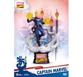 Marvel Comics - D-Stage Captain Marvel figure