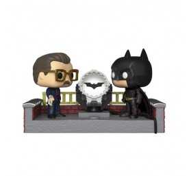 Figurine DC Comics Batman's 80th - Batman with Light Up Bat Signal POP!