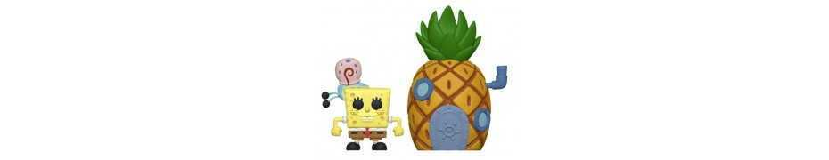 Figurine Bob l'Éponge - SpongeBob & Pineapple POP!