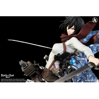 Attack on Titan - Mikasa Kitsune Statue figure 10