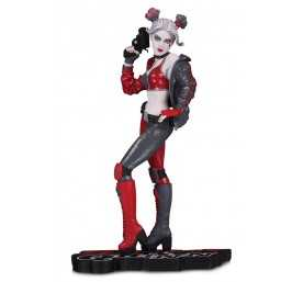Figurine DC Comics - Harley Quinn Red White and Black by Joshua Middleton