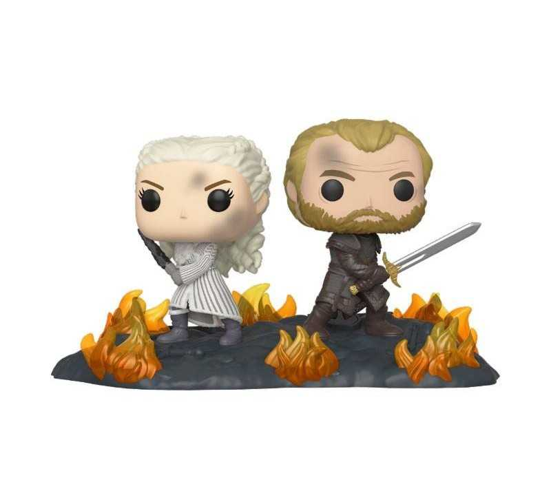 Figurine Game of Thrones - Movie Moment Daenerys & Jorah POP!