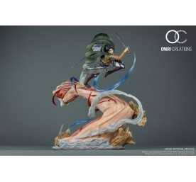 Attack on Titan - Levi VS Female Titan Oniri figure
