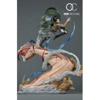 Figura Shingeki no Kyojin - Levi VS Female Titan 16