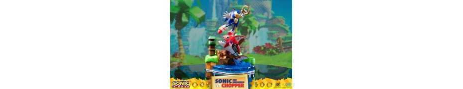 Figurine Sonic Generations - Sonic The Hedgehog vs Chopper Diorama 2