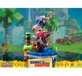 Sonic Generations - Sonic The Hedgehog vs Chopper Diorama figure 2