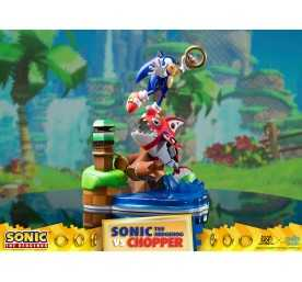 Sonic Generations - Sonic The Hedgehog vs Chopper Diorama figure 3
