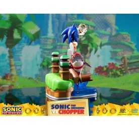 Sonic Generations - Sonic The Hedgehog vs Chopper Diorama figure 4