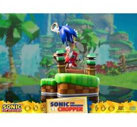 Sonic Generations - Sonic The Hedgehog vs Chopper Diorama figure 6