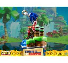 Figurine Sonic Generations - Sonic The Hedgehog vs Chopper Diorama 7