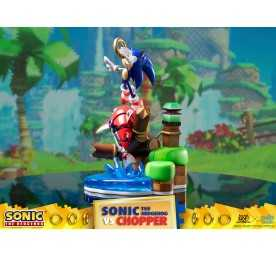 Figurine Sonic Generations - Sonic The Hedgehog vs Chopper Diorama 8