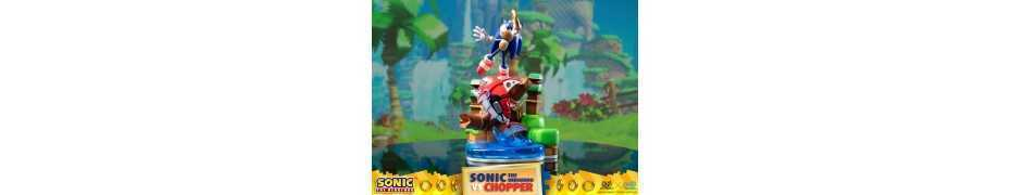 Figurine Sonic Generations - Sonic The Hedgehog vs Chopper Diorama 9