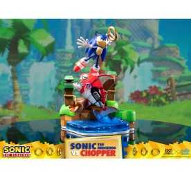 Figurine Sonic Generations - Sonic The Hedgehog vs Chopper Diorama 10