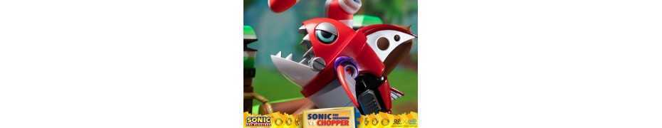 Figurine Sonic Generations - Sonic The Hedgehog vs Chopper Diorama 11